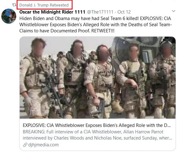 biden and obama had seal team 6 killed