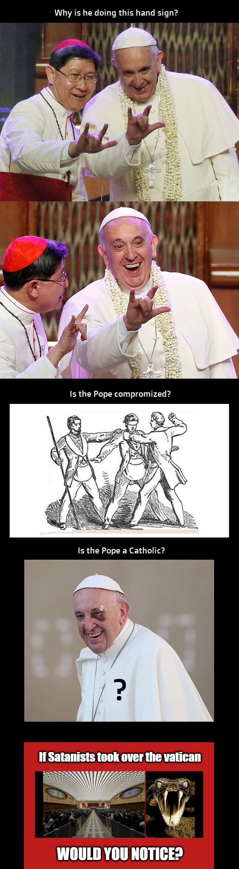 is the pope a catholic4